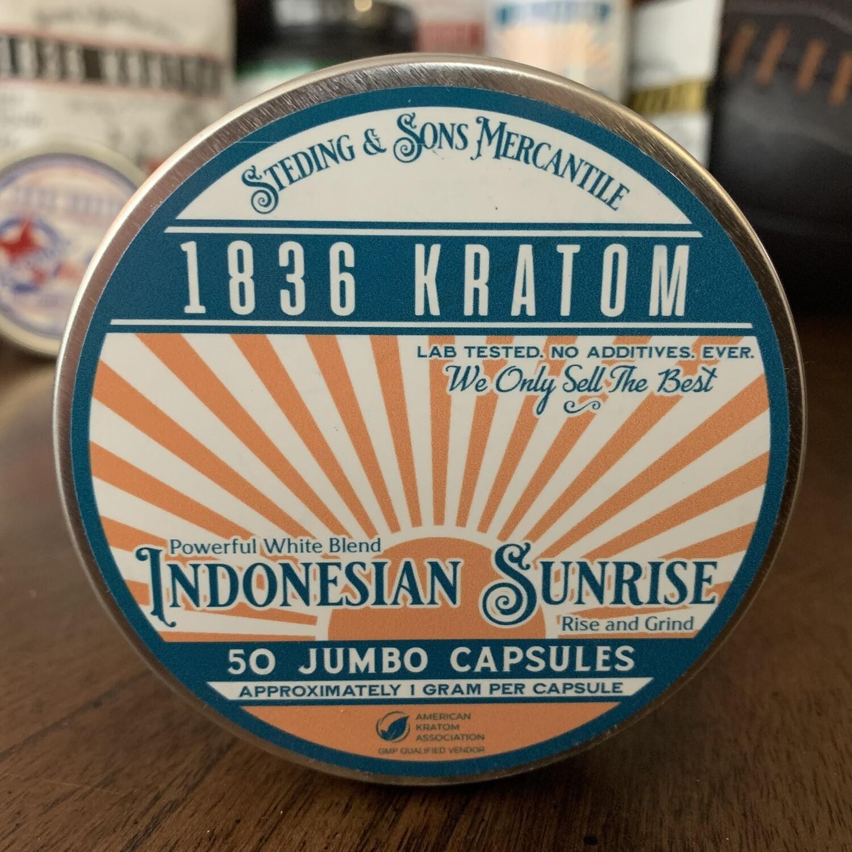 Jumbo Capsules - Indonesian Sunrise - 3 Sizes!