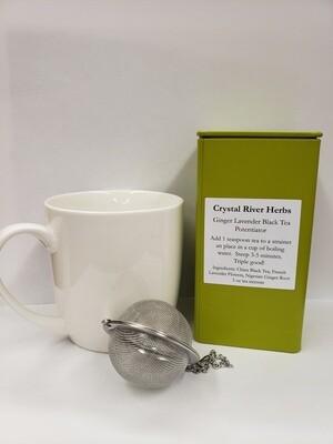 Ginger Lavender Black Tea