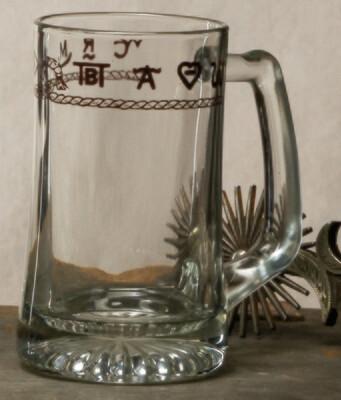 15oz beer mug, set of 4, brands