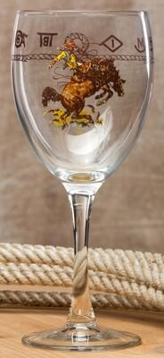 15oz goblet, set of 4 pieces, bronco