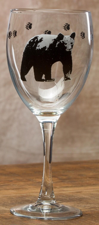 15oz goblet, set of 4, bear
