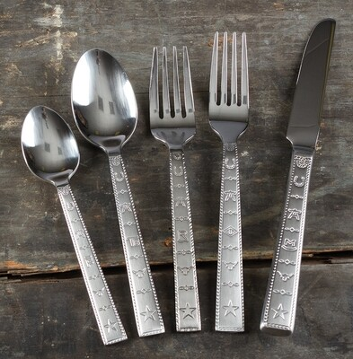 20 piece flatware set, brands