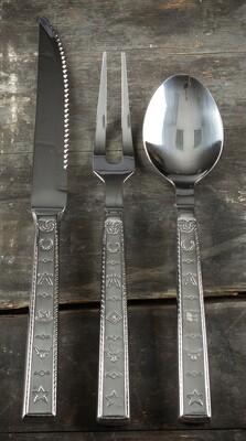3 piece serving set, brands