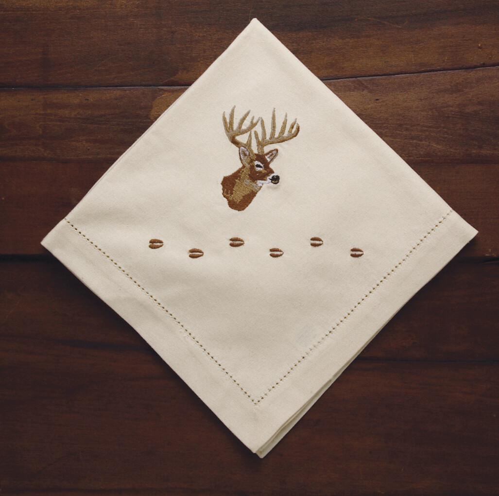 Napkins, 4 pieces, deer
