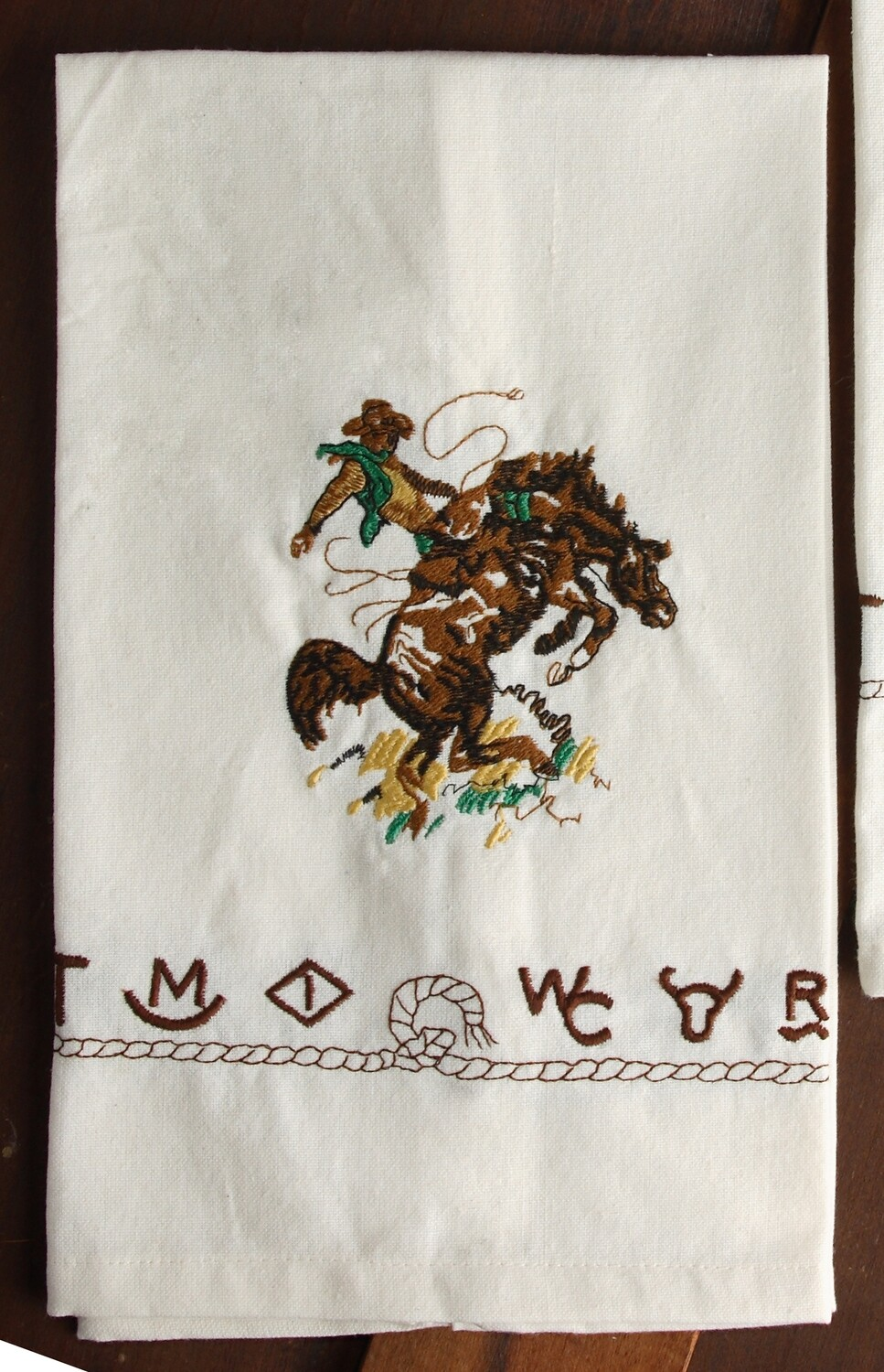 Kitchen towels, 4 pieces, bronco