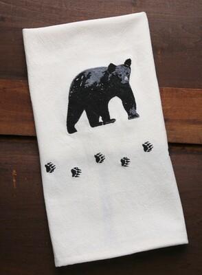 Kitchen towels, 4 pieces, bear