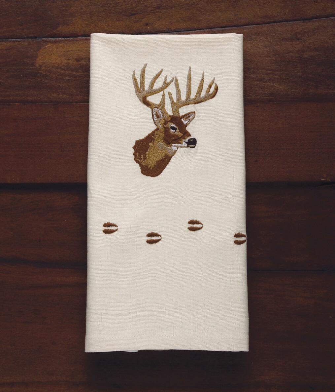 Kitchen towels, 4 pieces, deer
