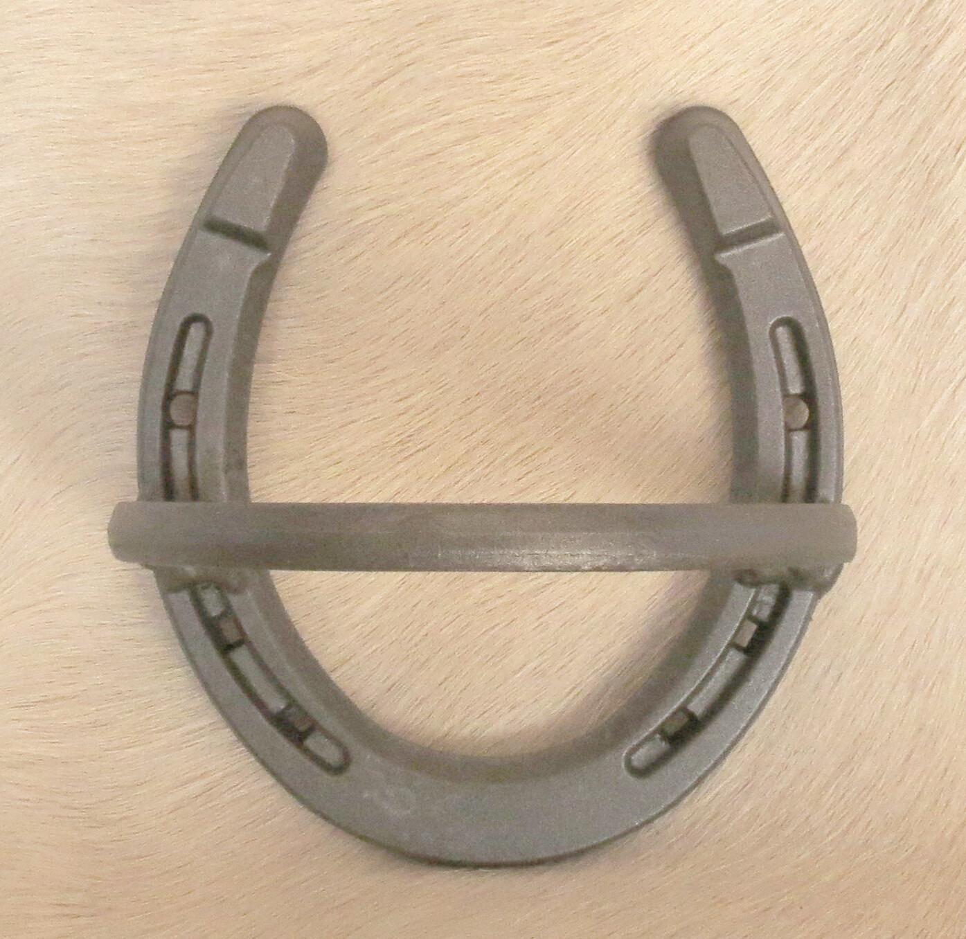 Horseshoe towel holder