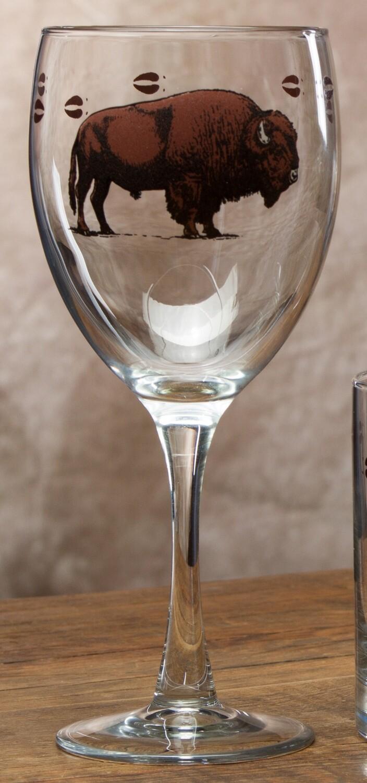 150z goblet, set of 4, bison