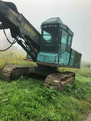 Timberjack 850 Feller Buncher