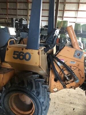 Case Model 560 Trencher