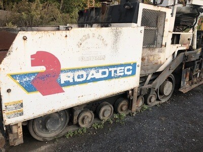 Roadtec RP155 Paver