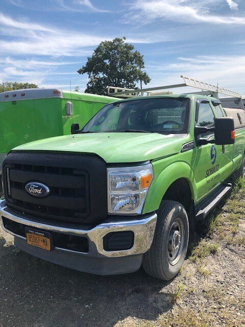 Ford F450 Flatbed Truck