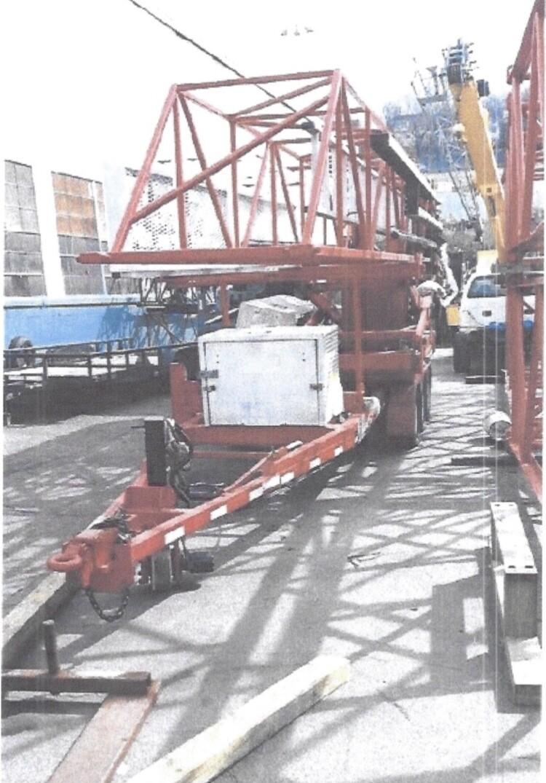 Bridge Inspection Trailer Unit