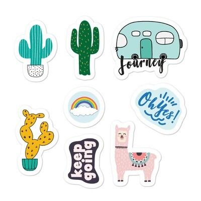 """""""My Journey"""" Bubble-free stickers"""