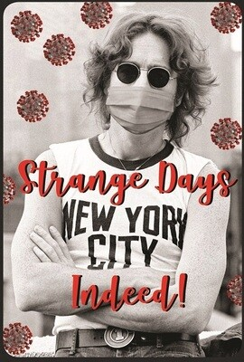 John Lennon Strange Days Poster