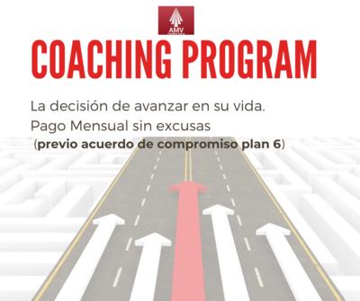 Coaching Program (Pago Mensual)