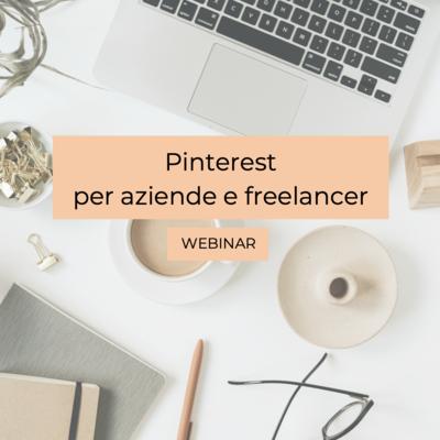 WEBINAR: Pinterest per business