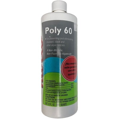 Alguicida Poly 60 bote 32 onzas.