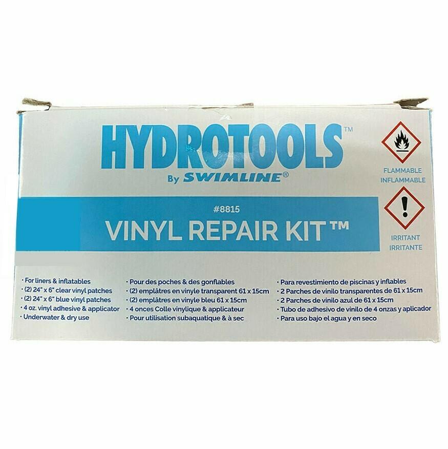 Kit para reparar piscinas de vinil. Precio sin ISV