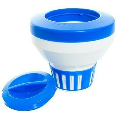 Dosificador de Tabletas Color Azul. Precio sin ISV.