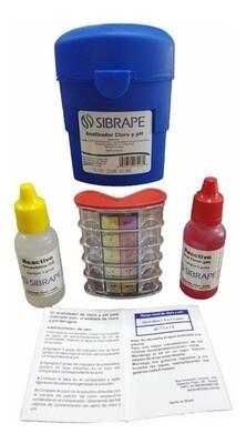 Kit para medir Cloro y pH SIBRAPE 1110008