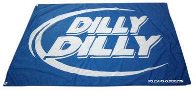 Blue Dilly Dilly 3x5' flag -FREE SHIPPING