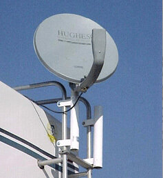 Ladder Mount for Satellite Dish