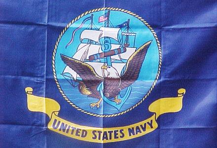 3' x 5' Flag - U.S. Navy