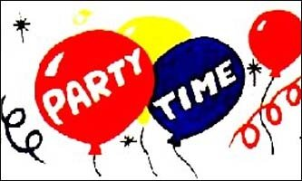3' x 5' Flag - Party Time