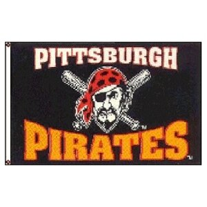 Pittsburgh Pirates MLB 3'x5' Banner Flag