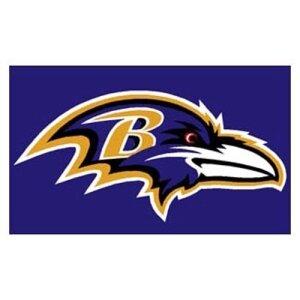 Baltimore Ravens NFL 3x5 Banner Flag