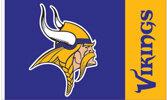 Minnesota Vikings NFL 3x5 Banner Flag