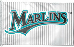 3x5' Florida Marlins MLB Flag