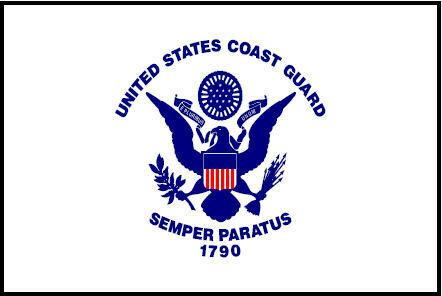 3x5' U.S. Coast Guard Flag