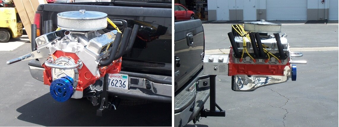 Hot Rod Grill Hitch Mount.