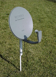 Ground Mount for Satellite Dish