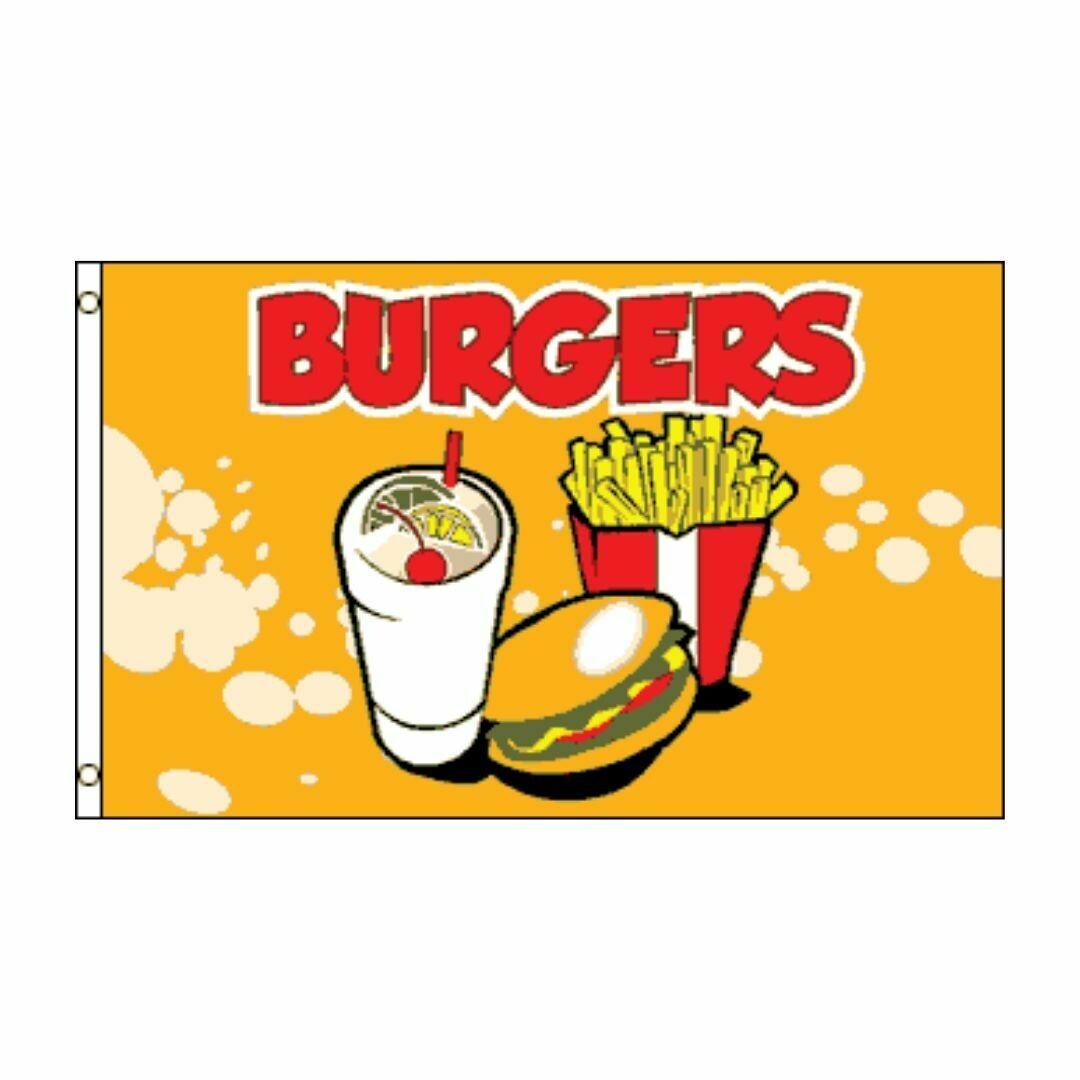 3'x5' Burgers flag
