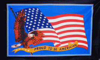 Proud to be American Flag 3x5'