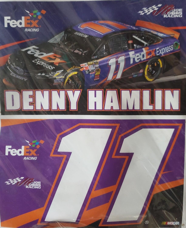 #11 Denny Hamlin  3x5' 2 sided Nascar Flag