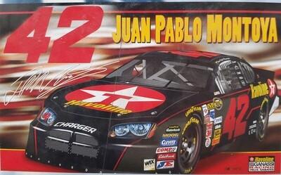 #42 Juan Pablo Montoya  3x5' 2 sided Nascar Flag