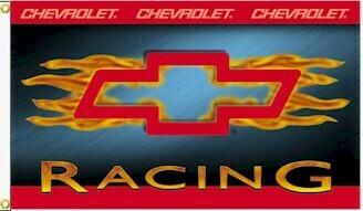 3' x 5' Chevy Racing Flame Flag