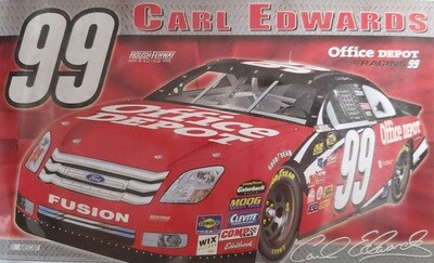 #99 Carl Edwards 3x5' Nascar Flag