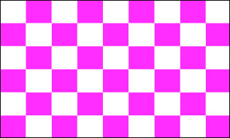 Checkered Flag - Purple & White