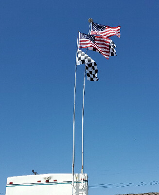 **LIMITED EDITION** 26' DELUXE FLAG POLE (NOW AVAILABLE)