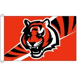 Cincinnati Bengals NFL 3x5 Banner Flag