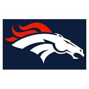 Denver Broncos NFL 3x5 Banner Flag