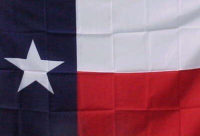 3' x 5' Flag - TEXAS