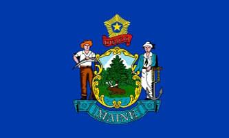 Maine State Flag
