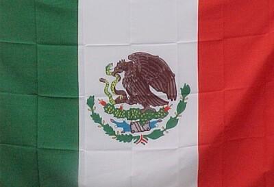 3' x 5' Flag - MEXICO